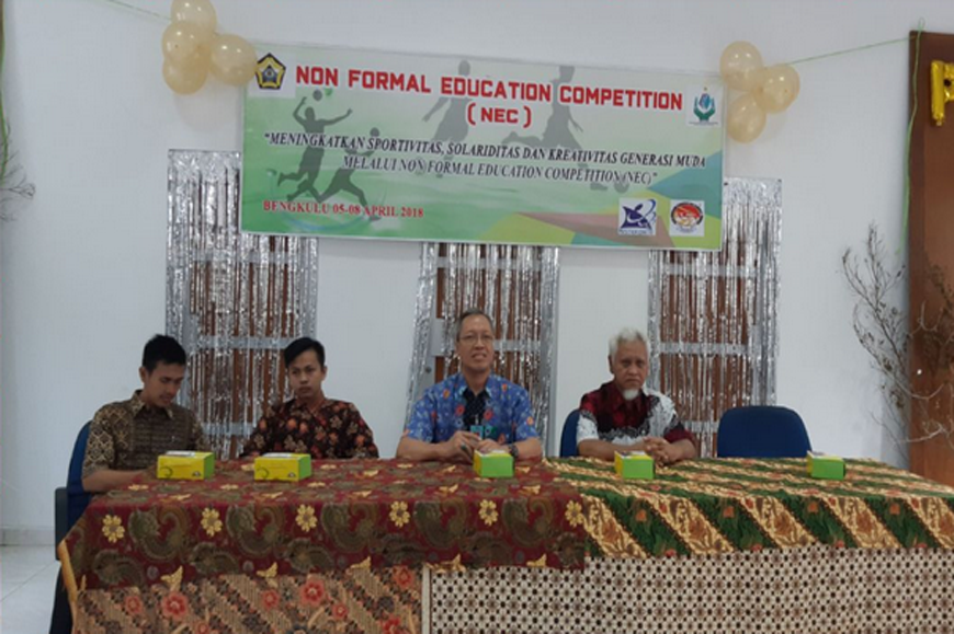 Pembukaan Acara Nonformal Education Competition